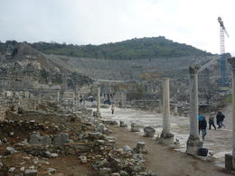 Impressive and well-preserved/restored amphitheater. , mself21 - December 2012