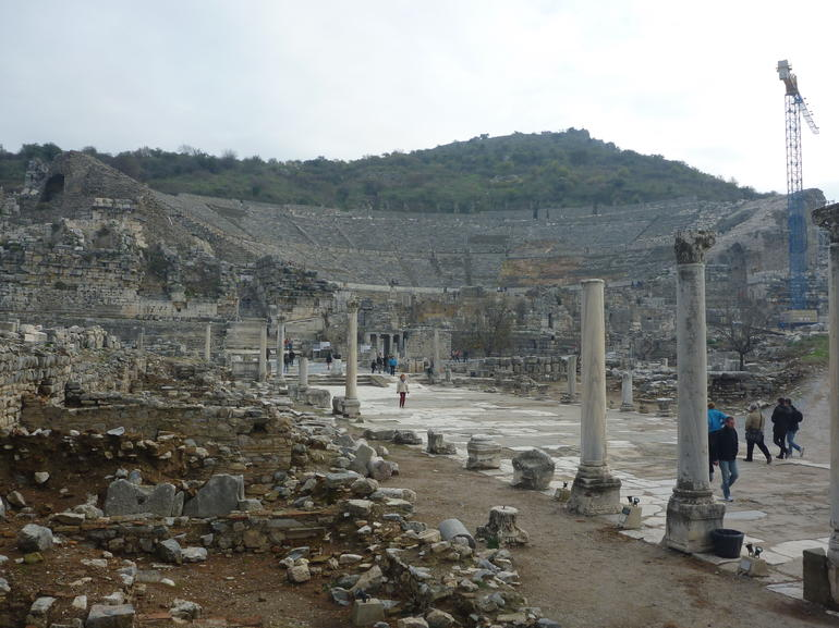 Amphitheater in Ephesus - Izmir