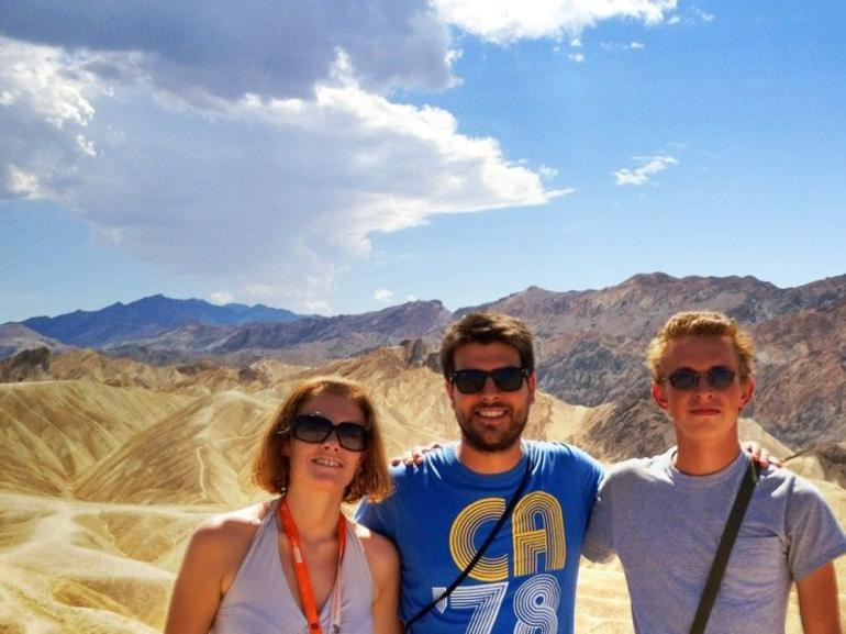 Beautiful sunny day in Death Valley - Las Vegas