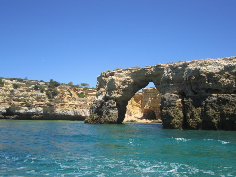 Caves off Albufeira 1 - The Algarve