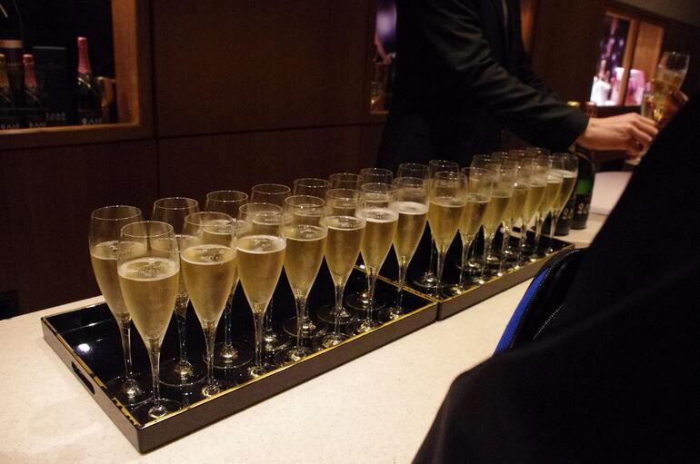 Champagne tasting -
