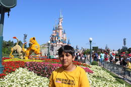 My son Shashank at the Disney Pari....spring time fun time , Geetha S - July 2014