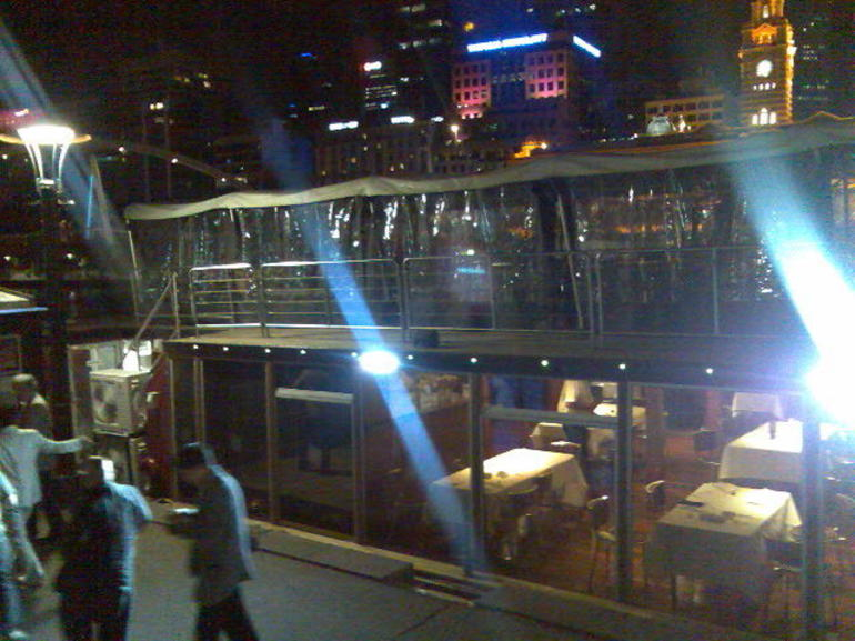 Docked after the cruise - Melbourne