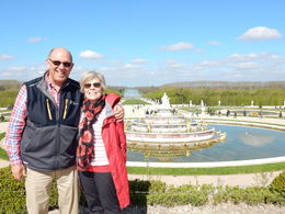 Barb and Barry in the sun at Versailles , Barry3391 - April 2016