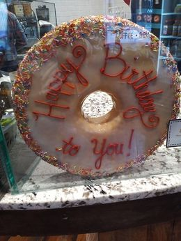 their vanilla birthday special. We had the Chocolate X4...SO AWESOME! , stacy h - February 2016