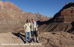 Vater und Sohn im Grand Canyon , Thomas B - September 2014