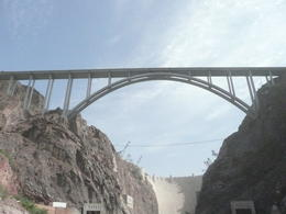 Hoover Bridge takes you from Las Vegas to Arizona , Jennifer B - November 2011