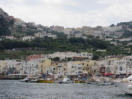 View of Capri on the way to The Blue Grotto , ligia m - August 2012