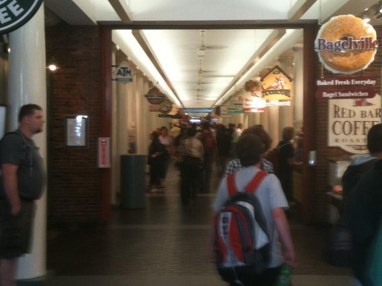 Inside Quincy Market - Boston