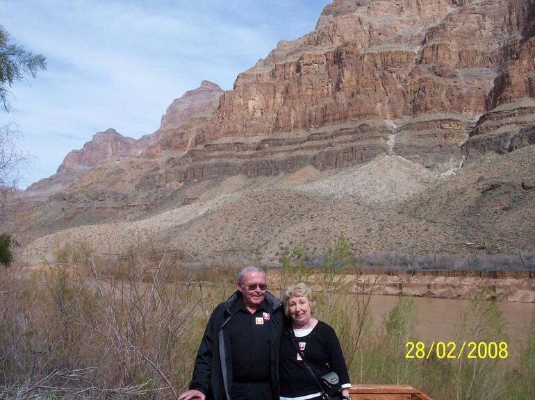 J & C in the Grand Canyon - Las Vegas