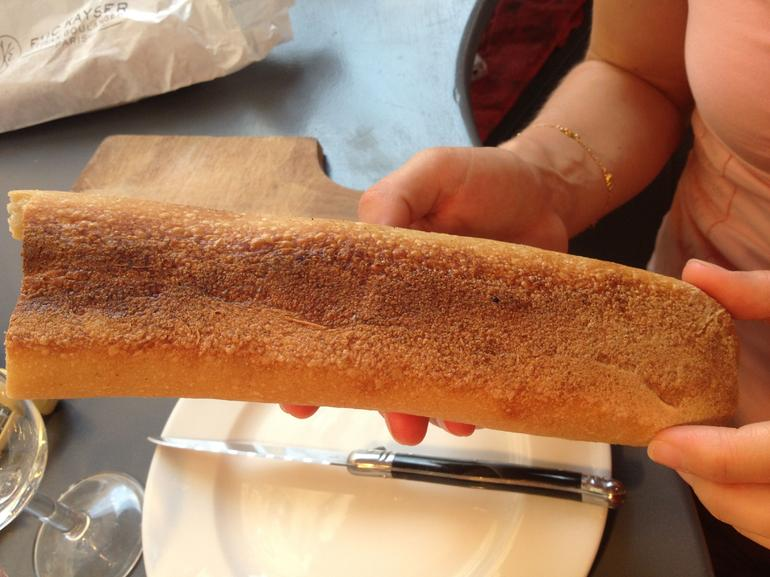 Learning about French bread - Paris