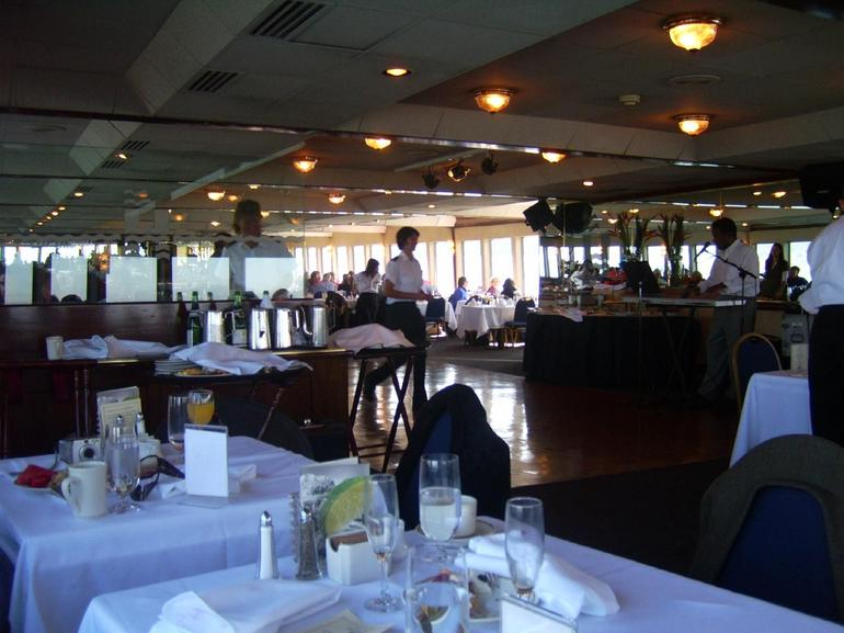 Middle deck of the cruise ship - San Francisco
