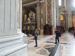 Me in St. Peter's Basilica , Grant T - May 2014