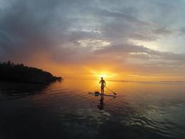 Sunset Paddle Tour Key Largo with Aquaholic Adventures , sarahecho - November 2012