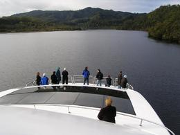The Lady Jane entering the Gordon River from Macquarie Harbour., HUGH S - May 2008