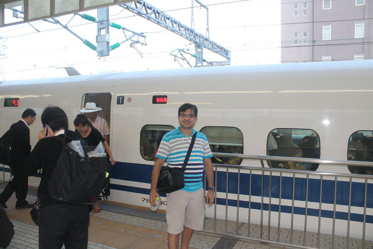 The Shinkansen Bullet Train - Tokyo