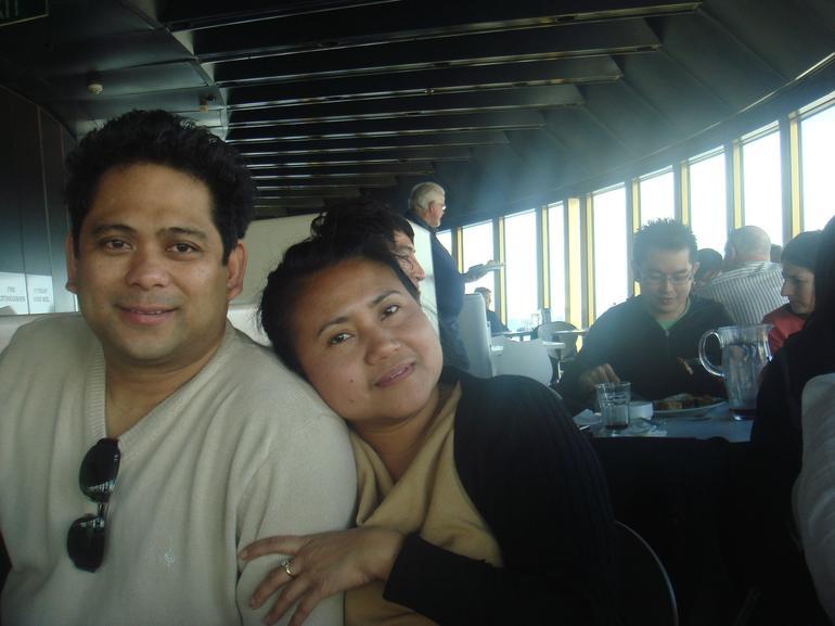 With my husband.. - Sydney