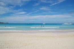 Flamenco Beach: Waves like spun glass and sand like powder. , Christine C - January 2017