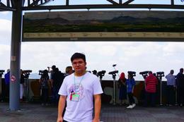 Dora Observatory - North Korea in background , Farris R - September 2017