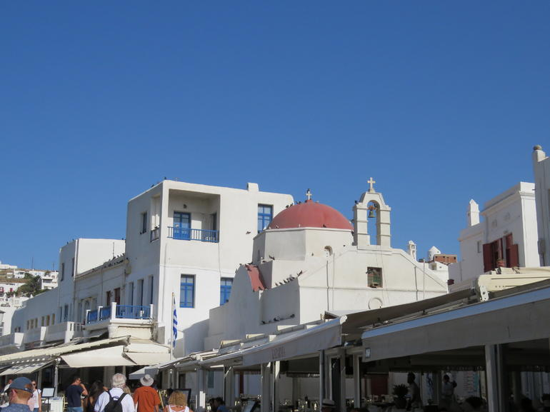 Overnight on Mykonos Island from Athens
