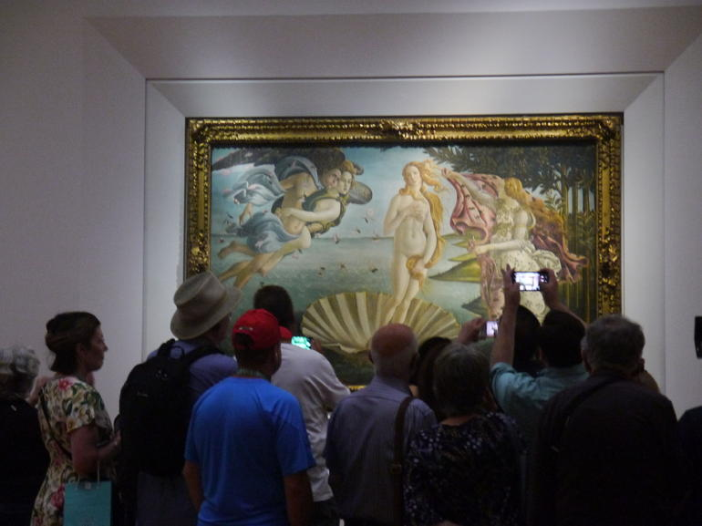 Skip the Line: Florence Accademia and Uffizi Gallery Small Group Tour photo 15
