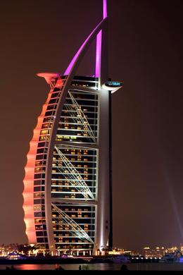 Burj Al Arab, the only seven star hotel and signature landmark of Dubai, United Arab Emirates. Captured by Mahboob Alam Maqbool. , Mahboob Alam Maqbool - June 2013