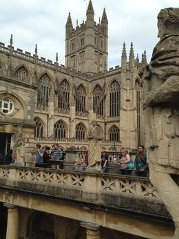 Bath was the surprise of the tour, no all in England is London , Edgar J - October 2014