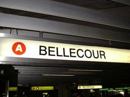 Bellecour Metro, Cat - January 2012