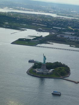 Higher than the Statue of Liberty :-) , Barbara P - June 2014