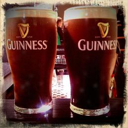 We poured our own Guinness! This was my first glass :-) , Marcus W - March 2012