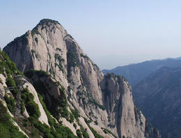 View of one of the mountain peaks - May 2012