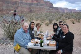 Picnic lunch at the Grand Canyon - April 2010