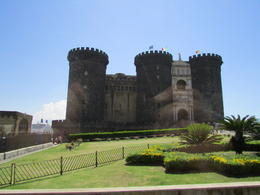 Ancient castle in the center of Naples , JOSE F - July 2013