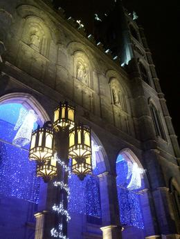 The cathedral looked spectacular at night, Timetable Tim - January 2013