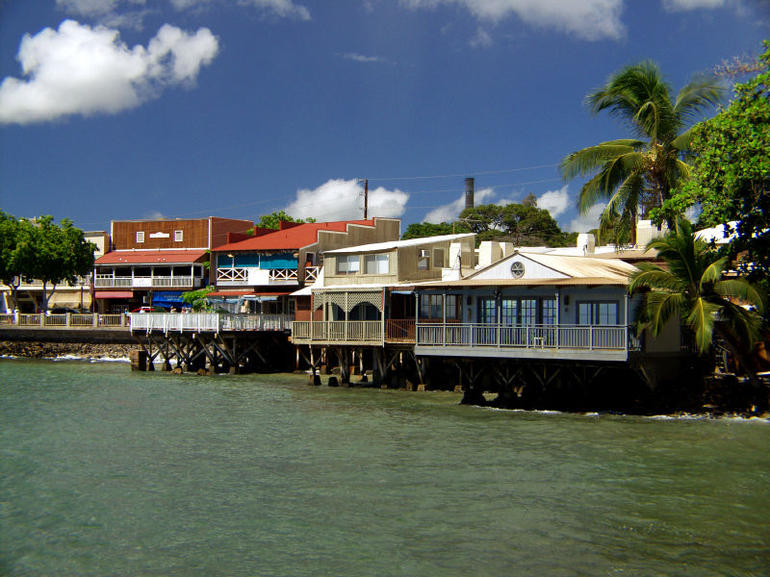 Old whaling town of Lahaina, Maui, Hawaii - Maui