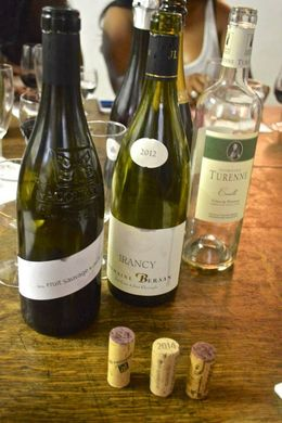 Examples of the delicious wines tasted , Shannon G - July 2015
