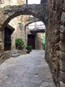 This is a photo taken in the village of Plas on the Costa Brava. , Sylvie L - September 2015
