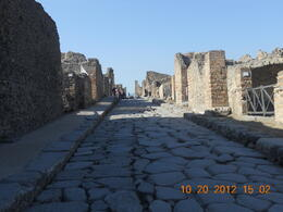 Ancient ruins of Pompeii , Leonila C - October 2012