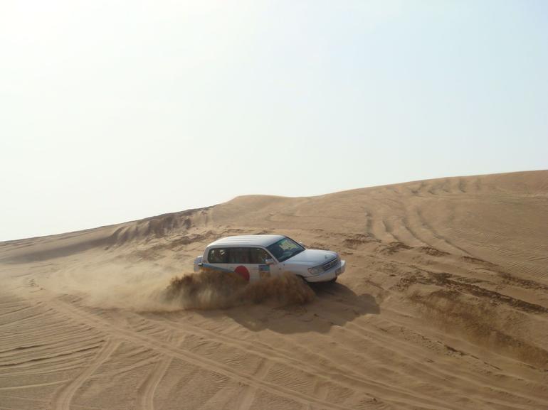 Sand dune bashing - Dubai