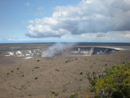 Top of the crater during the day. , James S - August 2013