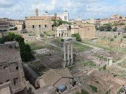 This was captured from the Palatine Hill. , Lawrence - November 2015