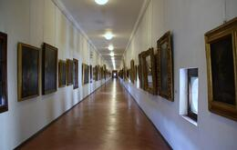 The Vasari Corridor, we were first in that day. , John G - August 2014