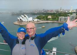 Great feat to make it to the top and see the spectacular views all around us! , Gerald P - March 2014