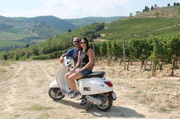 On the Vespa in the Tuscan countryside , bocagirl - September 2016