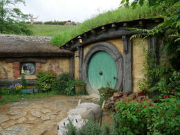 One of the other hobbit holes 44 or so in total , Hunter - December 2016
