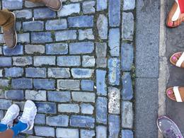 The cobblestone streets on San Juan , Nicole M - January 2017