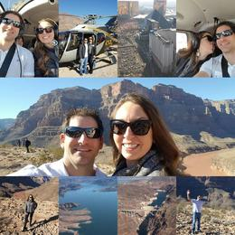 Various shots from our Grand Canyon helicopter tour. , Rachel M - January 2017
