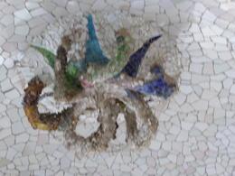 Octopus mosaic in the Park , Linda S - September 2017