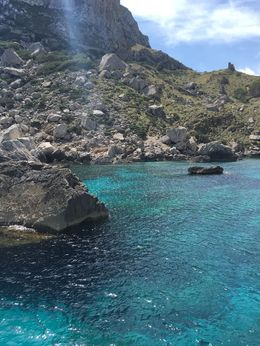 Out on the coast of Mallorca. No idea where as the guide provided no information , Kerri C - April 2016