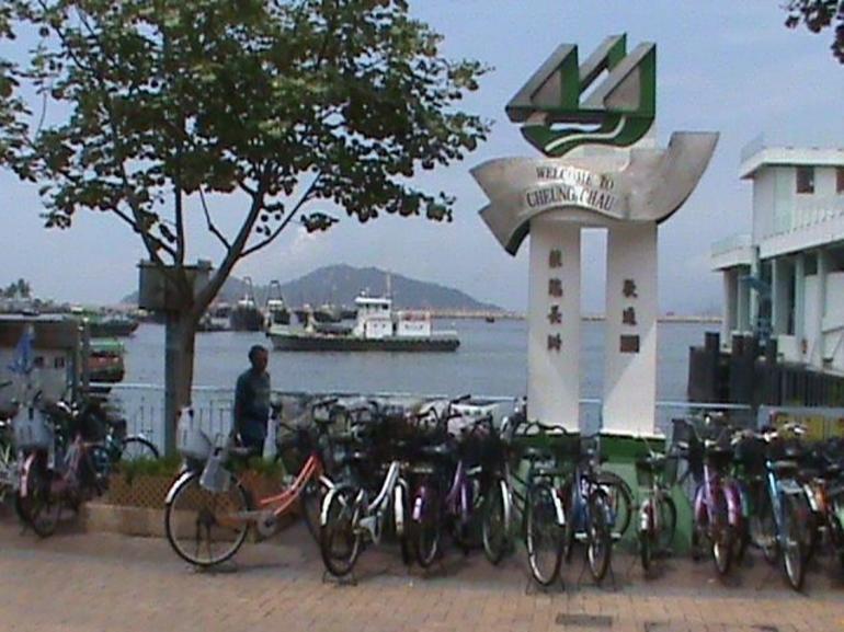 Cheung Chau harbour - Hong Kong